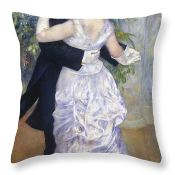 Renoir: Town Dance, 1883 Throw Pillow by Granger