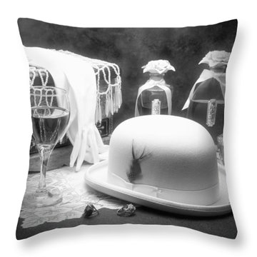 Revelry Throw Pillow by Tom Mc Nemar