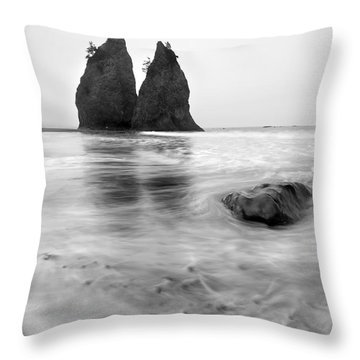 Rialto Reflections Throw Pillow by Mike  Dawson