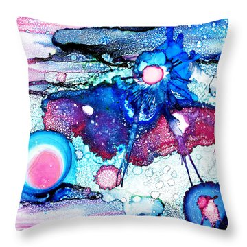 Ride With Me Baby Throw Pillow by Sir Josef Social Critic - ART