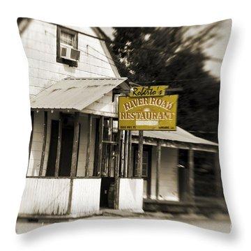 Roberto's Throw Pillow by Scott Pellegrin