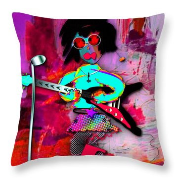 Rocer Lucy Collection Throw Pillow by Marvin Blaine