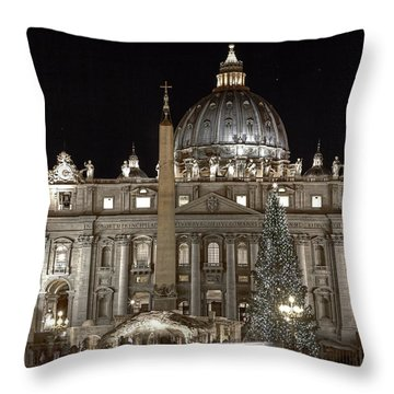 Rome Vatican Throw Pillow by Joana Kruse