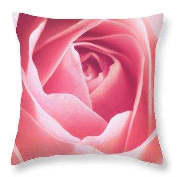 Rosa Throw Pillow by Wim Lanclus