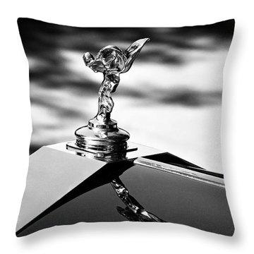 Rr At 8 O'clock Throw Pillow by Kurt Golgart