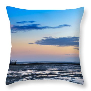 Throw Pillow featuring the photograph Running Out Of Time by Thierry Bouriat
