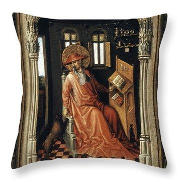 Saint Jerome (340-420) Throw Pillow by Granger