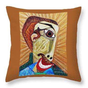 Salesman Of The Year Throw Pillow by Sarah Loft