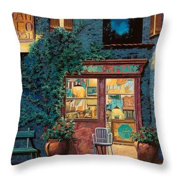 Sapore Di Mare Throw Pillow by Guido Borelli