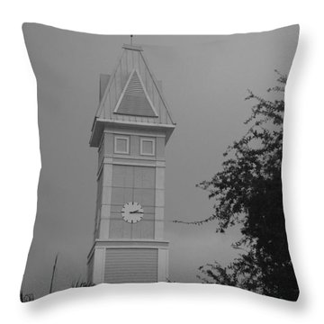 Save The Clock Tower Throw Pillow by Rob Hans