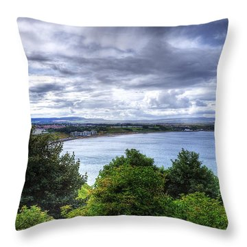 Scarborough Bay Throw Pillow by Svetlana Sewell