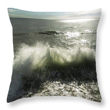 Sea Waves3 Throw Pillow by Svetlana Sewell