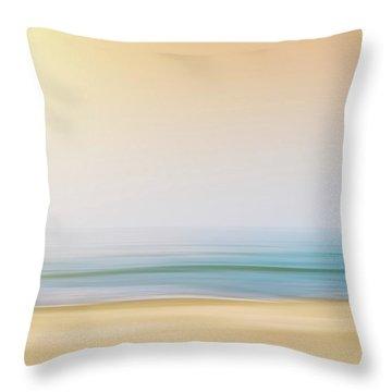 Seashore Throw Pillow by Wim Lanclus