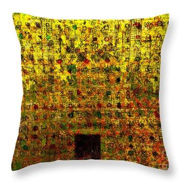 Secret IIi Throw Pillow by Andy  Mercer