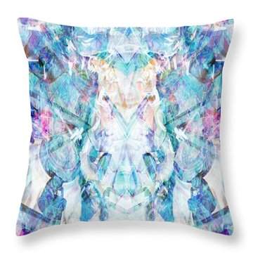 Serendipity Throw Pillow by Beth Travers