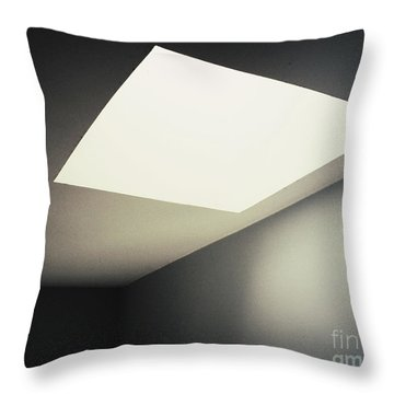 Shapes Throw Pillow by Rikard Olsson
