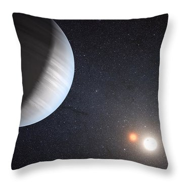 Sharing Two Suns Throw Pillow by Movie Poster Prints