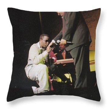 Sharpton 50th Birthday Throw Pillow by Azim Thomas