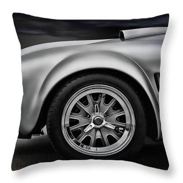 Shelby Cobra Gt Throw Pillow by Douglas Pittman
