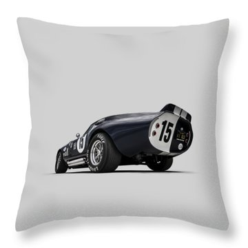 Shelby Daytona Throw Pillow by Douglas Pittman