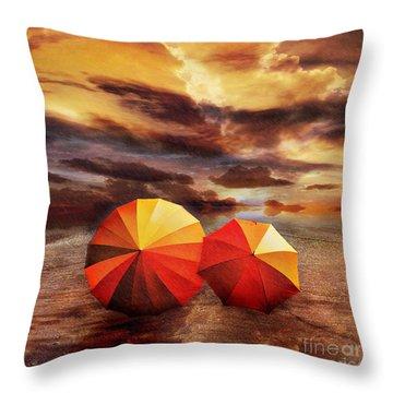 Shelter Throw Pillow by Jacky Gerritsen