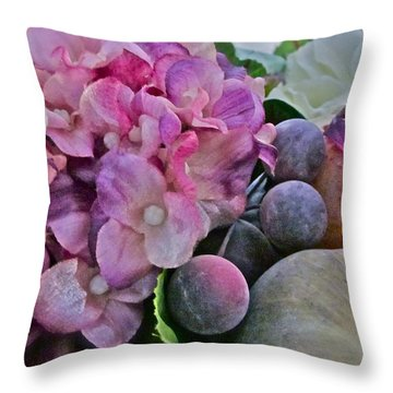 Sherry's Love Throw Pillow by Gwyn Newcombe