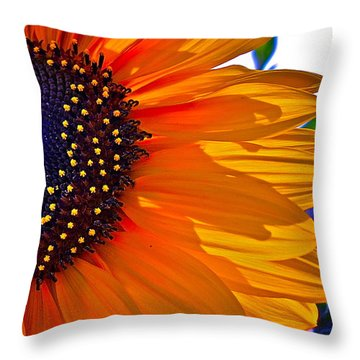 Shhhhh Throw Pillow by Gwyn Newcombe