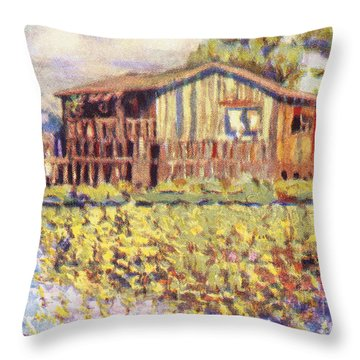 Shirley Russel Art Throw Pillow by Hawaiian Legacy Archive - Printscapes
