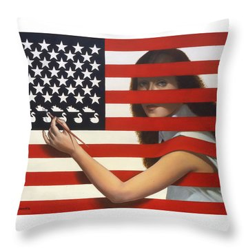 Shooting Gallery Throw Pillow by Jane Whiting Chrzanoska