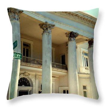 Simply Charleston Throw Pillow by Karen Wiles