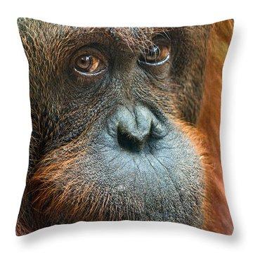 Soulful Throw Pillow by Jamie Pham