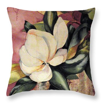 Southern Scents Throw Pillow by Michael  Pearson