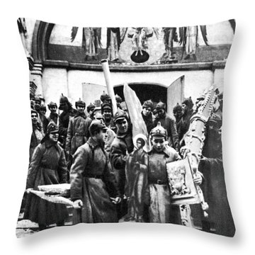 Soviet Anti-religion Policy Throw Pillow by Granger