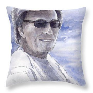 Spenser Throw Pillow by Yuriy  Shevchuk