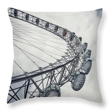 Spin Me Around Throw Pillow by Evelina Kremsdorf