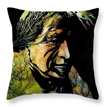 Spirit Of The Land Throw Pillow by Paul Sachtleben