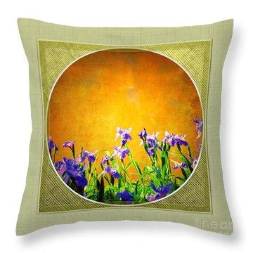 Splendor Throw Pillow by Darla Wood