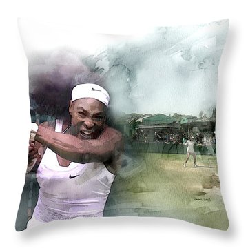 Sports 18 Throw Pillow by Jani Heinonen