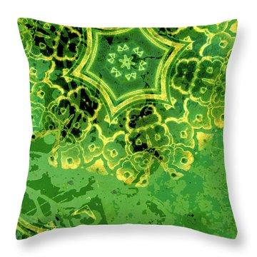 Spring Sprung Throw Pillow by Bonnie Bruno