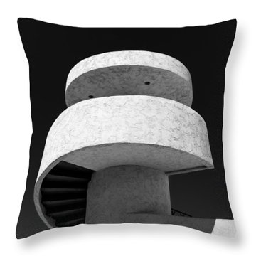 Stairs To Nowhere Throw Pillow by Dave Bowman