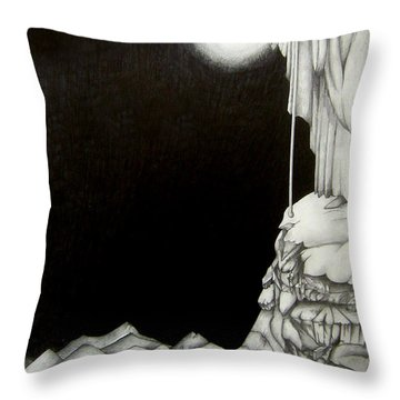 Stairway To Heaven Throw Pillow by Patrice Torrillo
