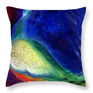 Starlight Throw Pillow by Nancy Moniz