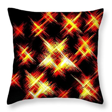 Starlight Throw Pillow by Will Borden