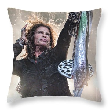 Steven Gives Throw Pillow by Traci Cottingham