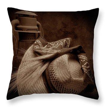 Still Life With Wheat II Throw Pillow by Tom Mc Nemar