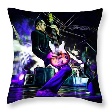 Stone Temple Pilots Collection Throw Pillow by Marvin Blaine