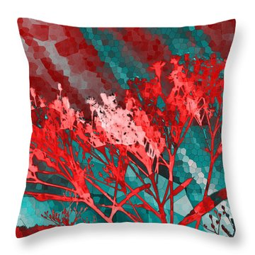 Stormy Weather Throw Pillow by Shawna Rowe