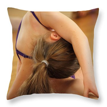 Stretch Throw Pillow by Virginia Halford