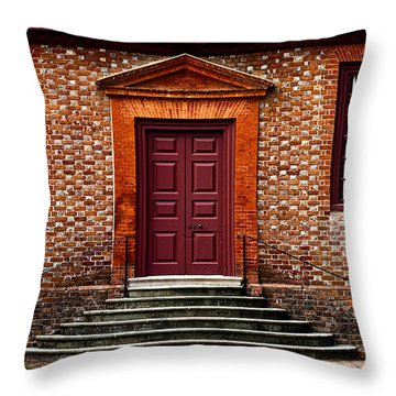 Structural Symetry Throw Pillow by Christopher Holmes