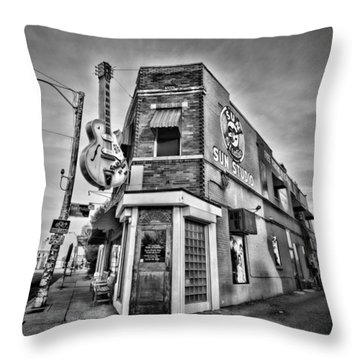 Sun Studio - Memphis #2 Throw Pillow by Stephen Stookey